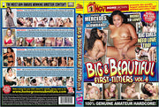 Big & Beautiful First Timers 4 Homegrown - Amateur Sealed DVD