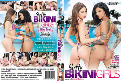 Slutty Bikini Girls Bonnie Rotten (riley reid) Factory Sealed DVD