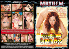 Deep Throat Cream Pies #1 - Mayhem - Sealed DVD