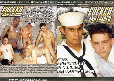 Cocked And Loaded Barrack X 69 - Gay Sealed DVD (Special)