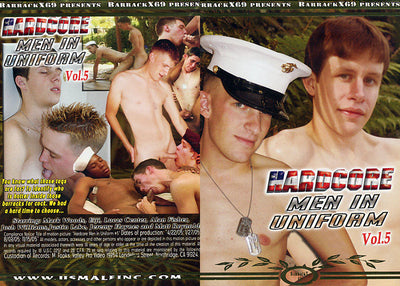 Hardcore Men In Uniform 5 Barrack X 69 - Gay Sealed DVD (Special)