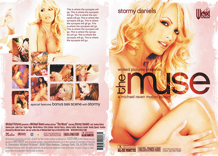 The Muse - Stormy Daniels - Wicked Sealed DVD