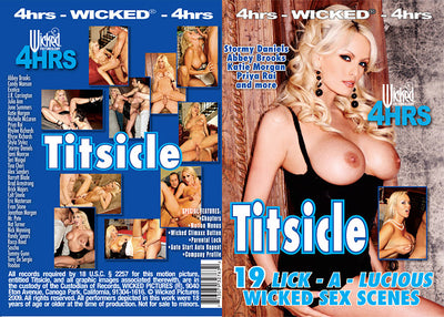 *Titsicle Wicked 4 Hrs Sealed DVD
