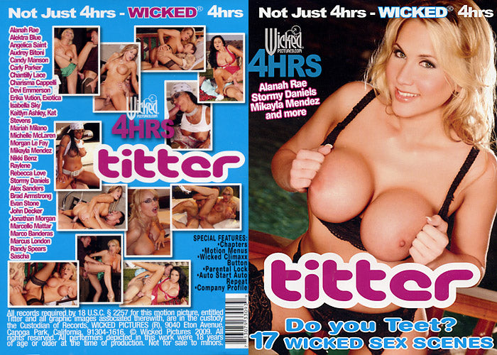 Titter Wicked 4 Hrs Sealed DVD