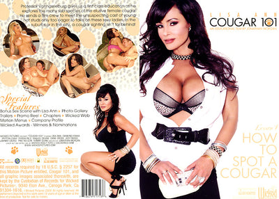 Cougar 101, Wicked - New Sale Sealed DVD