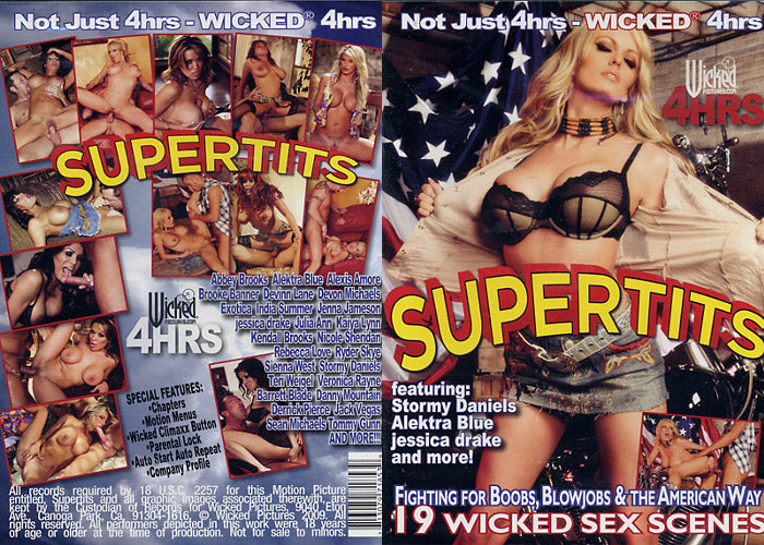 Super Tits - Stormy Daniels - Wicked Sealed DVD