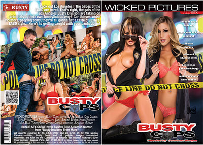 Busty Cops Wicked - Sealed DVD