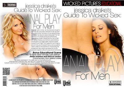 Jessica Drake's Guide To Wicked Sex: Anal Wicked - Instructional Sealed DVD