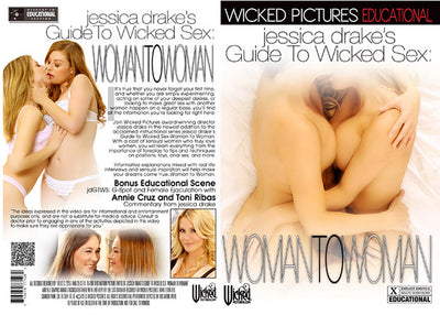 Jessica Drake's Guide To Wicked Sex: Woman To Woman Wicked - Instructional Sealed DVD