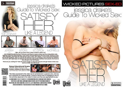 Jessica Drake's Satisfy Her Like A Legend Wicked - Instructional Sealed DVD