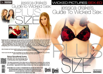 Jessica Drake's Guide To Wicked Sex: Plus Size Wicked - Instructional Sealed DVD