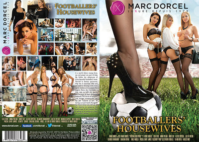 Footballers' Housewives Marc Dorcel - European Sealed DVD