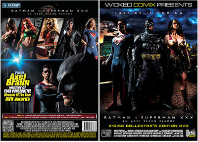 Batman V Superman XXX (2 Disc Set) - Wicked - Parody Sealed DVD