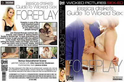Jessica Drake's Guide To Wicked Sex: Foreplay Wicked - Instructional Sealed DVD