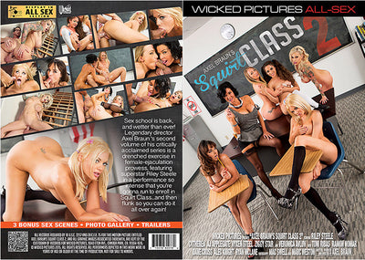 Axel Braun's Squirt Class 2 Wicked - Sealed DVD