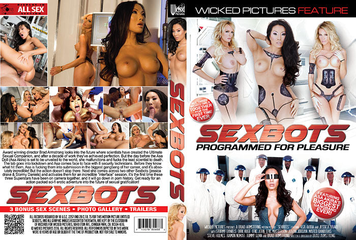 Sex Bots (stormy daniels) - Wicked Sealed DVD