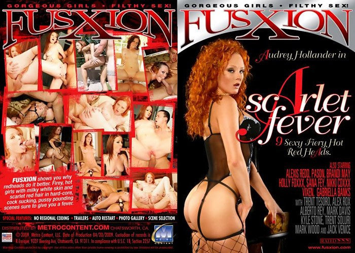 Scarlet Fever (red reads) Fusxion Sealed DVD