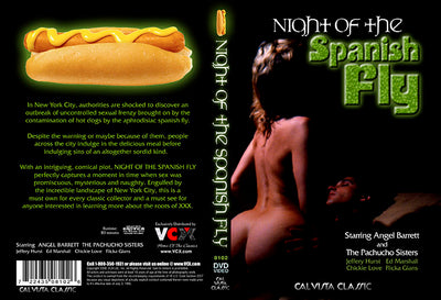 Nights Of Spanish Fly VCX - Classic Sealed DVD