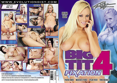 Big Tit Fixation 4 Tom Byron - Gonzo Sealed DVD