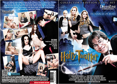 Hairy Twatter: A Dreamzone Parody (2 Disc Set) Dream Zone - Sealed DVD