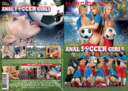 Anal Soccer Girls Marc Dorcel - European Sealed DVD