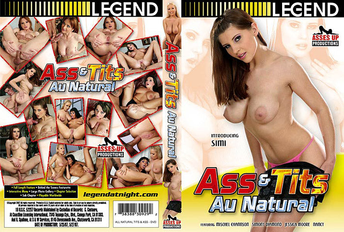 Ass & Tits Au Natural - Legend DVD
