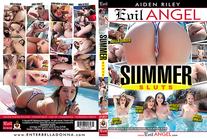 Summer Sluts Evil Angel  Sealed DVD