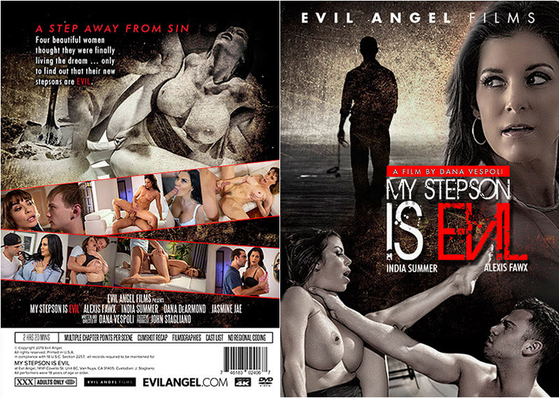 My Stepson Is Evil, Evil Angel Sealed DVD
