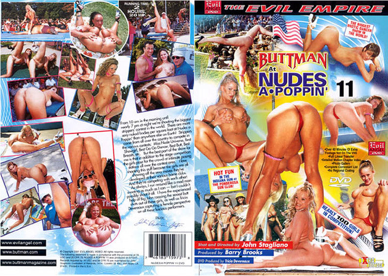 Buttman At Nudes A Poppin' 11 Evil Angel - Amateur Sealed DVD