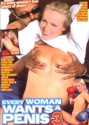 Every Woman Wants a Penis #3 - Midnight Sealed DVD