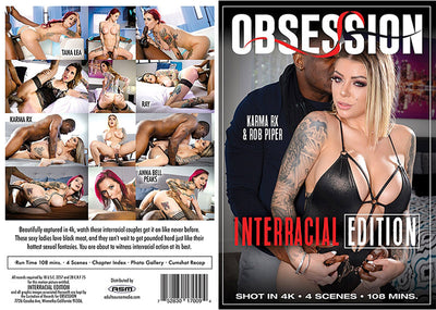 Interracial Edition Obsession - Romance Sealed DVD