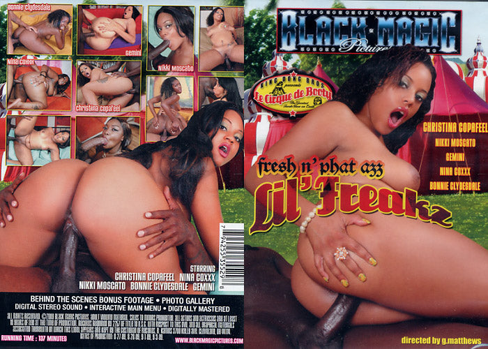 Fresh n Phat Ass Lil Freakz #1 - Black Magic Sealed Adult DVD