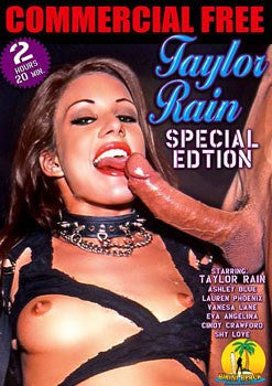 Taylor Rain - Special Edition Legend Adult XXX DVD in White Sleeve