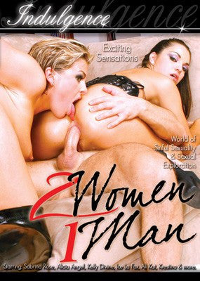 2 Women 1 Man #1 - Indulgence DVD