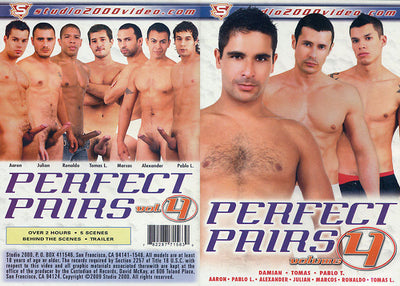 Perfect Pairs 4 Studio 2000 - Gay Sealed DVD