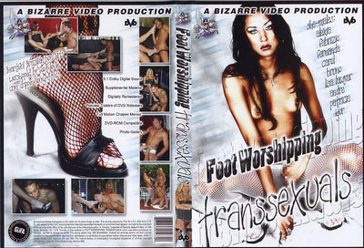 Foot Worshipping Transsexuals Bizarre - All Sex Sealed DVD