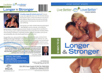 10 Ways To Go Longer & Stronger Adam & Eve Sealed DVD