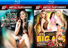 10 Different Digital Playground BLU RAY Sealed DVDs