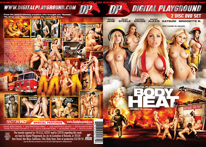 Body Heat - Digital Playground Sealed 2 DVD Set