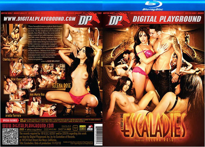 Escaladies #1 - Blu Ray Digital Playground New DVD in Sleeve