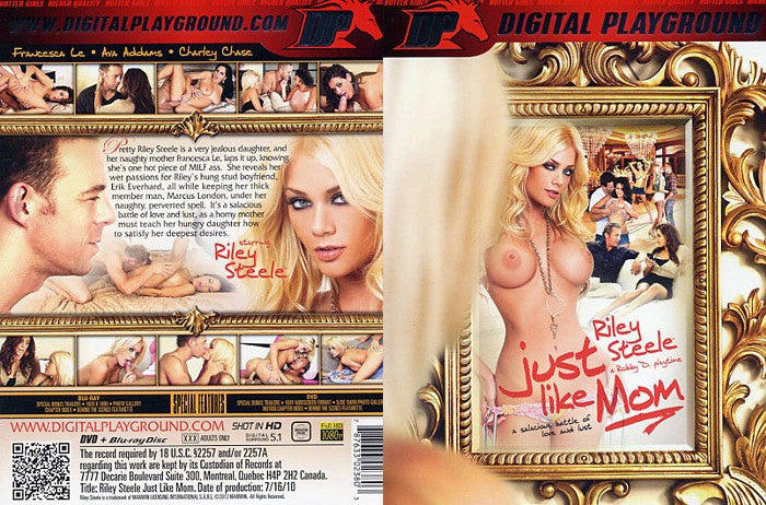 Just Like Mom - Digital Playground New DVD in Sleeve