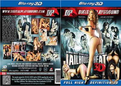 Jailhouse Heat 3D (3D Blu-Ray) - DP - Blockbusters Sealed DVD