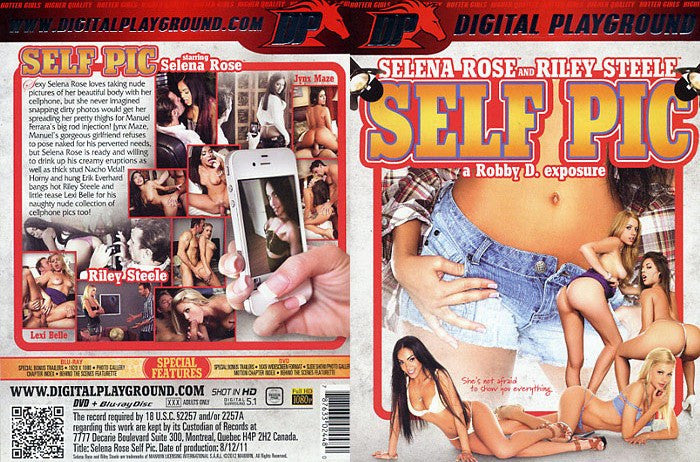 Self Pic - Digital Playground New DVD in Sleeve
