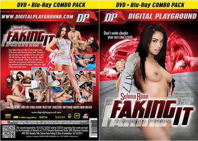 Selena Rose: Faking It (Blu-Ray + DVD) DP DVD + BR Combo Sealed DVD