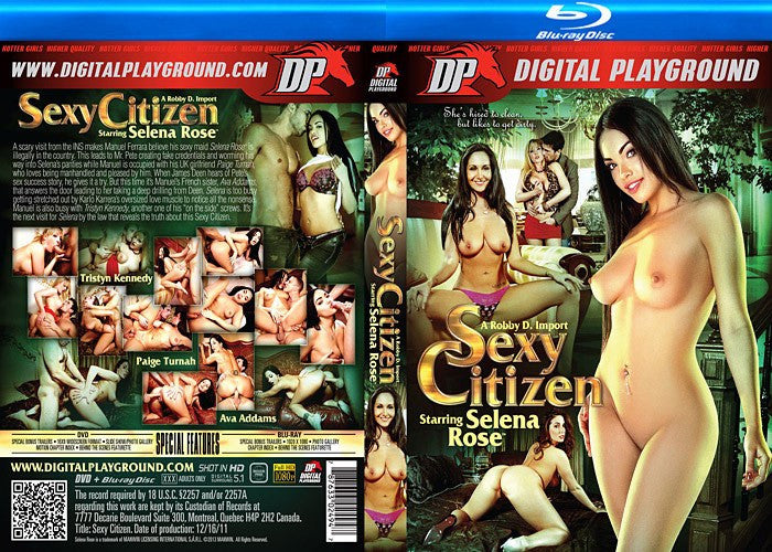 Selena Rose Sexy Citizen Digital Playground Blu Ray New DVD in Sleeve