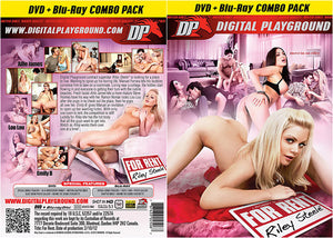 Riley Steele: For Rent (Blu-Ray + DVD) DP DVD + BR Combo Sealed DVD