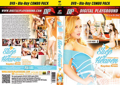 Kayden Kross: Slice Of Heaven (Blu-Ray + DVD) DP DVD + BR Combo Sealed DVD