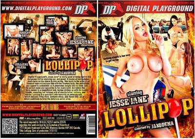 Jesse Jane: Lollipop DP Sealed DVD