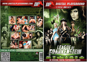 League Of Frankenstein (2 Disc Set) Digital Playground - Sealed DVD