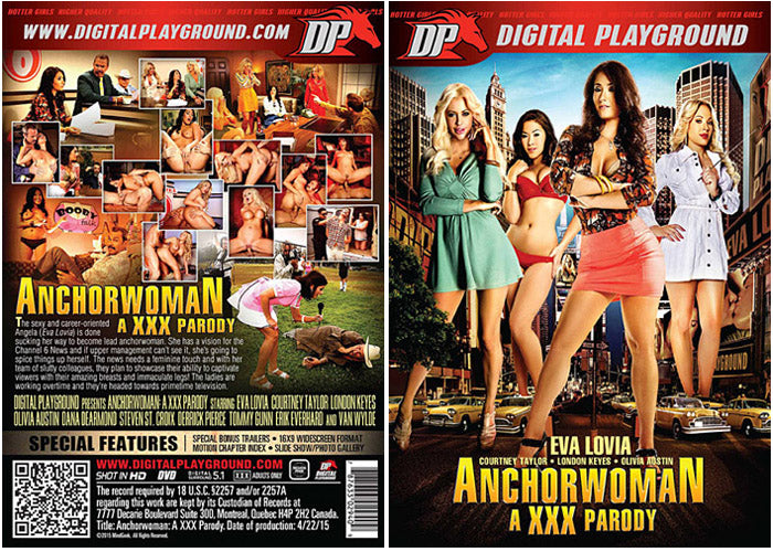 Anchorwoman - Digital Playground Premium DVD